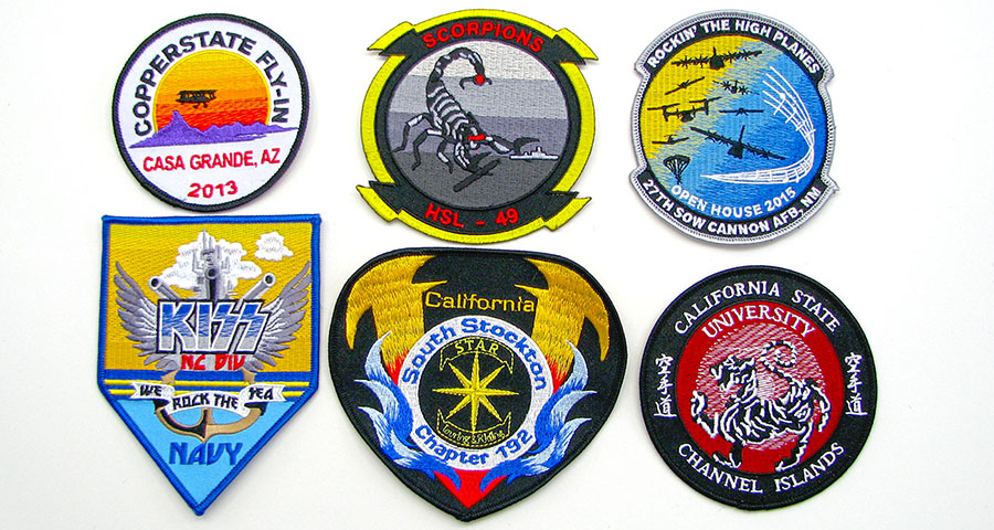 color blended patches
