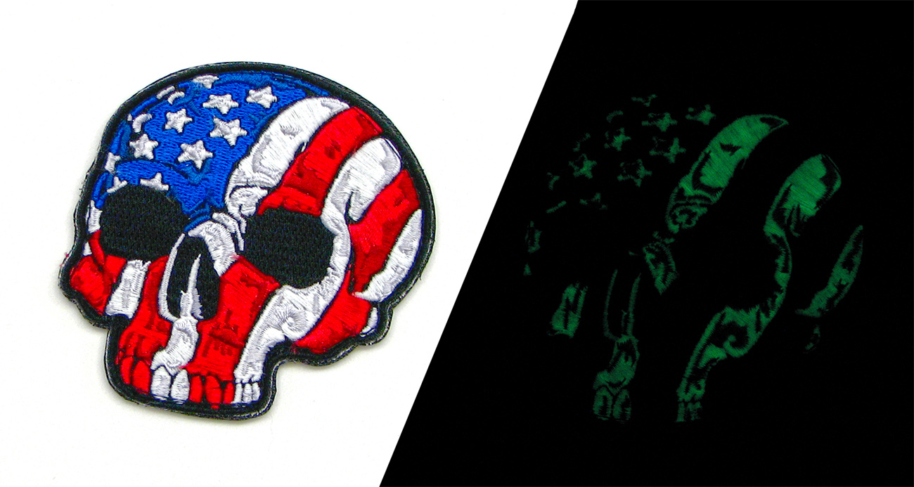 glow in the dark patches