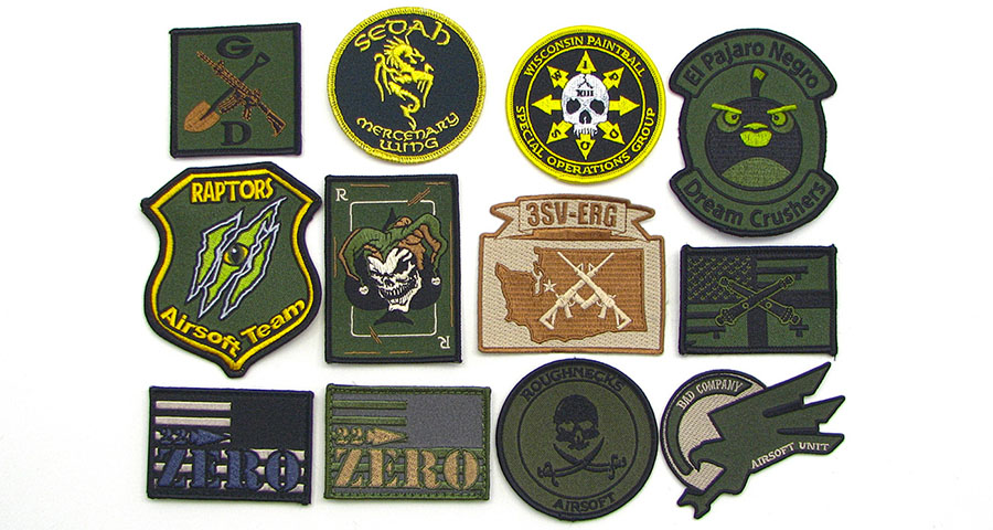 paintball patches