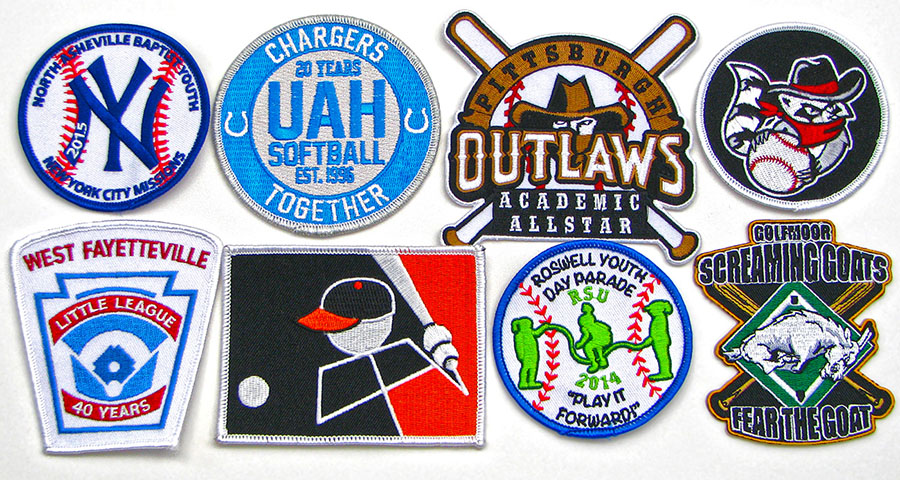 baseball patches