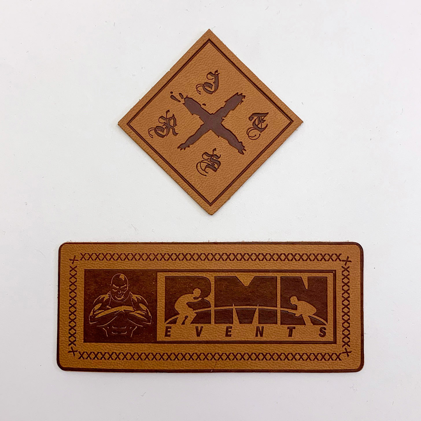 Leather Patches - Custom Patches - Made To Your Design