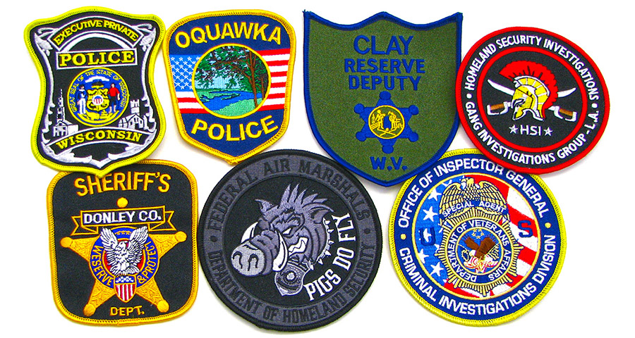 police patches